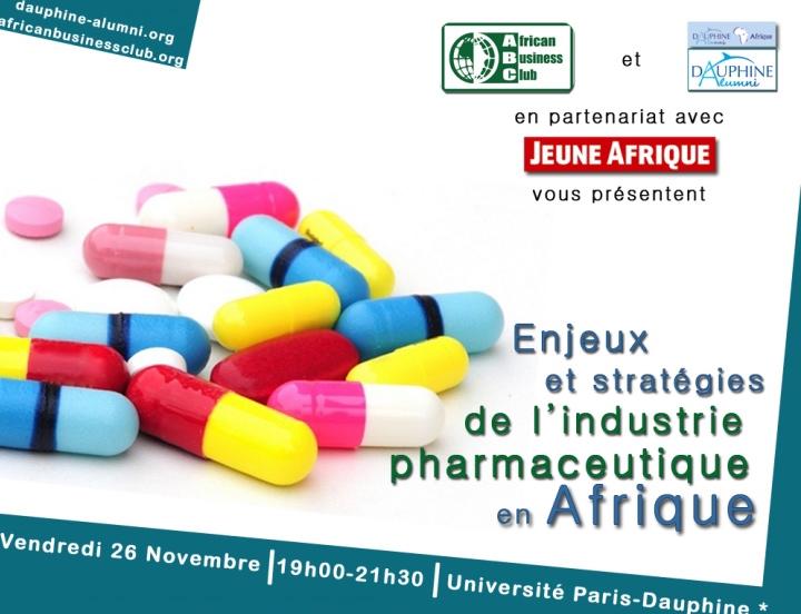 Conférence – Enjeux et Stratégies de l'Industrie Pharmaceutique en Afrique