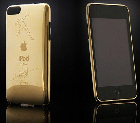 Ipod Touch Collector Gold Usain Bolt. Wanda Gold !