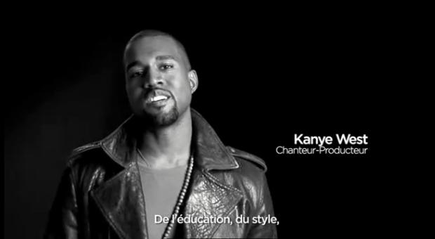 France.fr – Le spot publicitaire avec Kanye West, Marc Jacob et Fergie