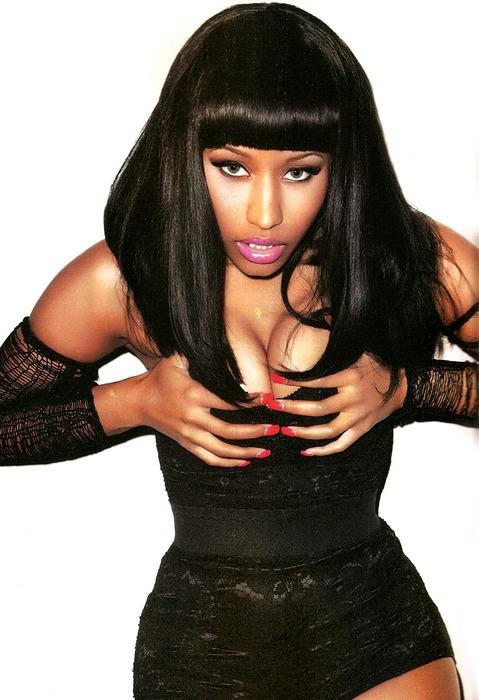 Nicki Minaj in Black Men Magazine… Again