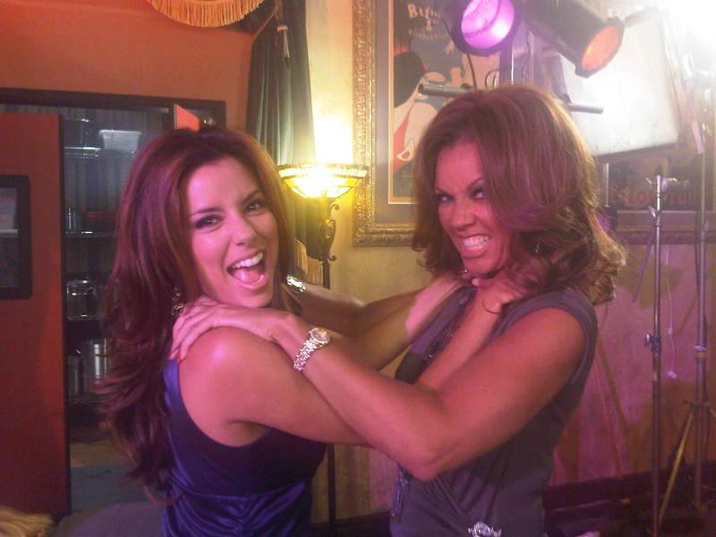 Eva & Vanessa – Desperate Housewives set