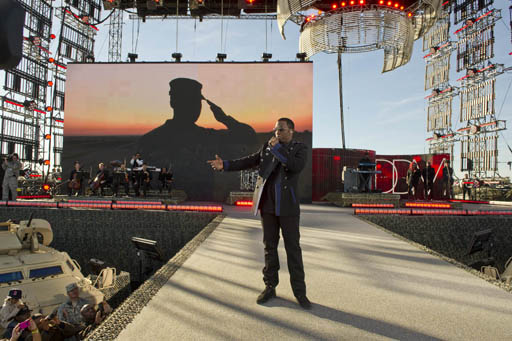 Diddy lors du WWE Tribute to The Troops 2010