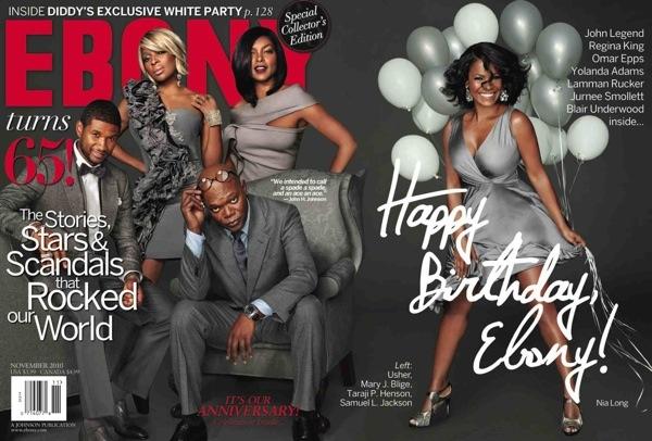 Ebony fête ses 65 ans
