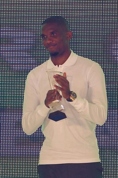Samuel Eto'o, ballon d'or africain 2010