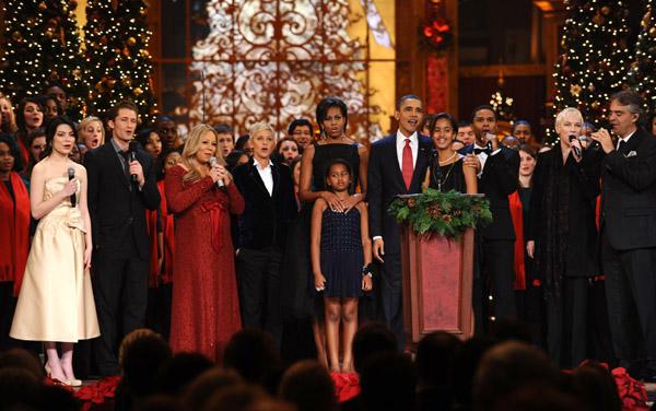 Dernière célébration de Noël à Washington