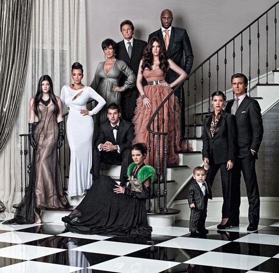 Les voeux de 2010 des Kardashian