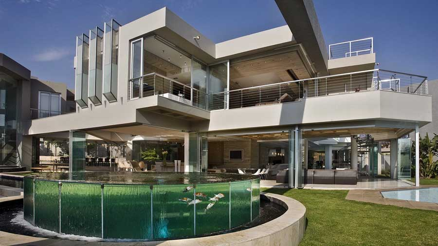La «Glass House» à Johannesbourg – Afrique du Sud