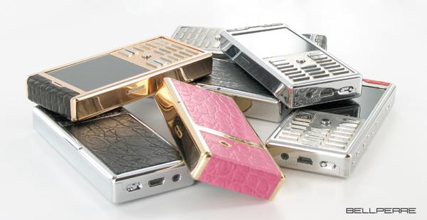 Bellperre, fabricant de téléphones de luxe