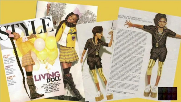 Willow Smith dans le London Sunday Times
