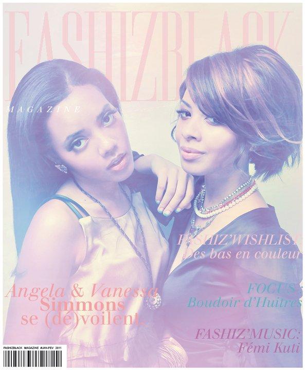 Les Soeurs Simmons se (dé)voilent pour Fashizblack Magazine
