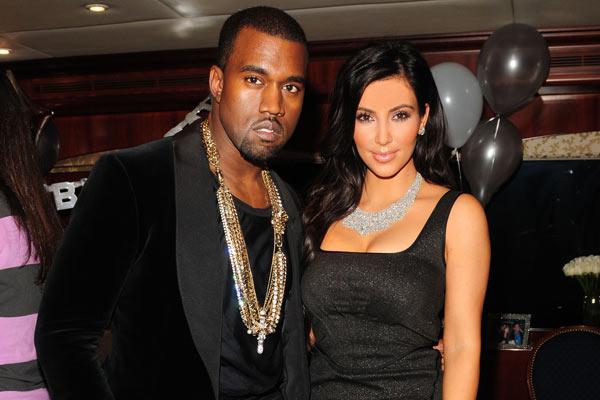 Kanye West dans le clip de Kim Kardashian