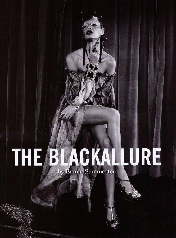 L'Allure Noire – Vogue Italia