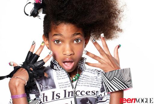 Willow Smith fait le show dans le Teen Vogue
