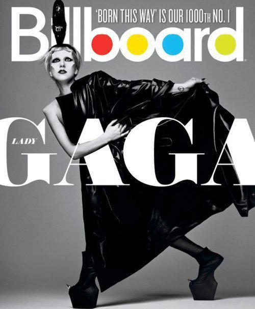 La Gaga explose (encore) le Billboard