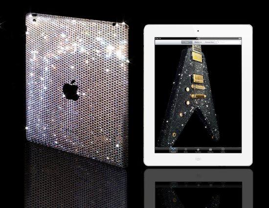 Une coque Swarovski pour l'iPad 2