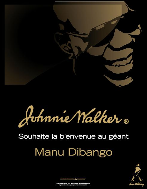 Manu Dibango, nouvel ambassadeur de Johnnie Walker