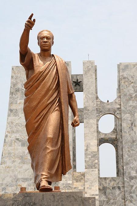 Mausolée de Kwame Nkrumah à Accra – GHANA