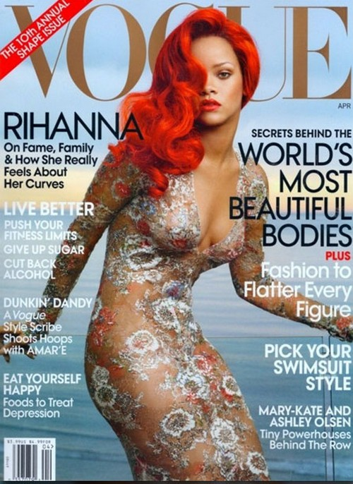 Rihanna en couverture du Vogue U.S.
