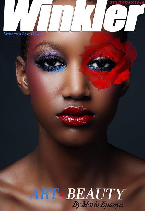 "Après ""Vogue Africa"", voici ""Winkler Magazine"" de Mario Epanya"