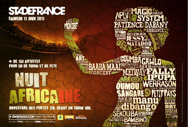 Concert : Nuit africaine au Stade de France – Fally Ipupa vous fait économiser 6 € !