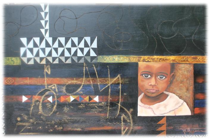 """Expo : Vernissage de """"Portraits d'Afrique de Mathegui"""" à Yaoundé (Cameroun)"""