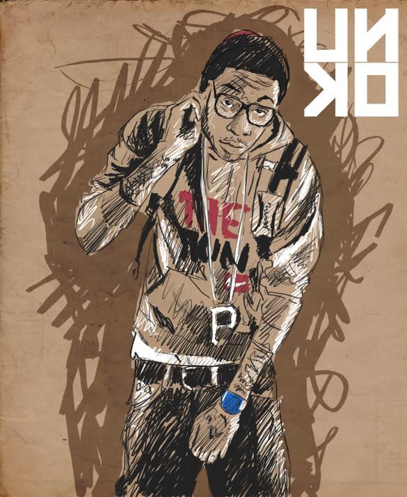 Portrait : Wiz Khalifa