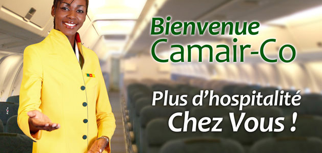 Web : Le site internet de Camair-Co