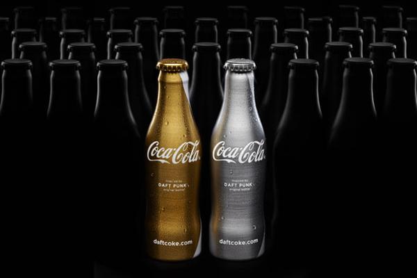 Coca Cola : Edition limitée Daft Punk