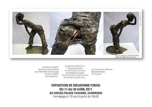 """Exposition : """"2ème chance"""" de Dieudonné Fokou"""