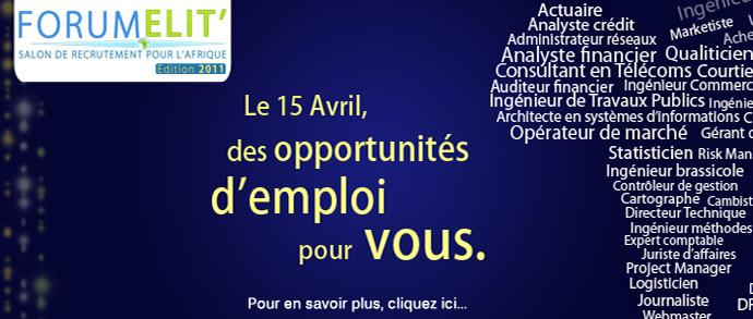 Forum Elit' 2011 – 15 avril à l'ESCP Europe (Paris)