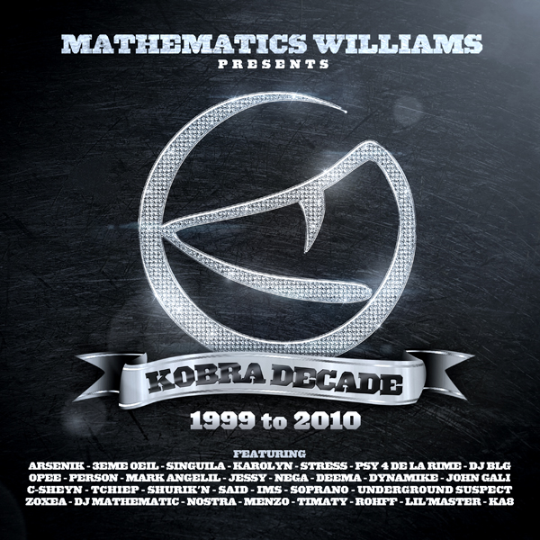 Mixtape : Kobra Decade 1999 to 2010 – A télécharger
