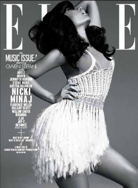 Elle U.S. : The Music Issue – Nicki Minaj, Willow Smith, Jennifer Hudson, Aretha Franklin & Co.