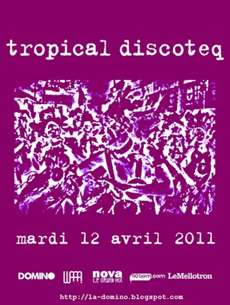 Soirée Tropical Discoteq # 10 le 12 avril – @ Favela Chic (Paris)