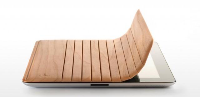 Une couverture en bois pour l'iPad 2
