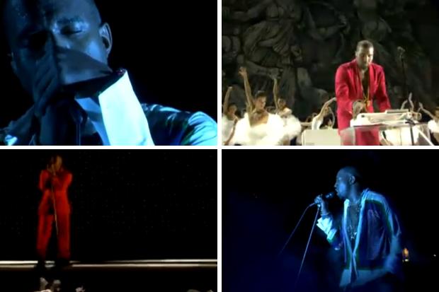 Coachella 2011 : Le live de 2h de Kanye West
