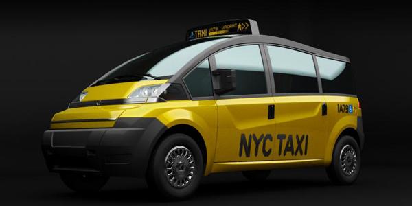 Karsan V1 :  New York City Taxi Concept