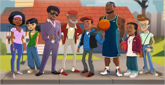 "LeBron James lance son dessin animé : ""The LeBrons"""