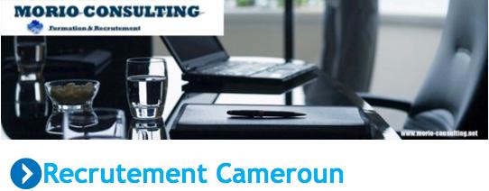 Emploi : Recrutement Cameroun – Managers et cadres spécialisés
