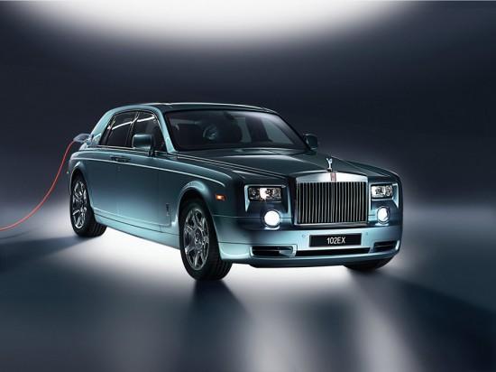 Rolls Royce Phantom 102EX – La première voiture électrique de luxe