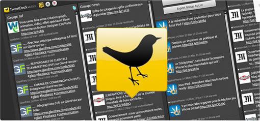 La menace de rachat de TweetDeck par Twitter