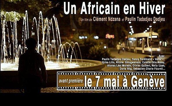 "Cinéma : ""Un Africain en Hiver"" de Clément Ndzana et Paulin Tadadjeu Dadjeu"