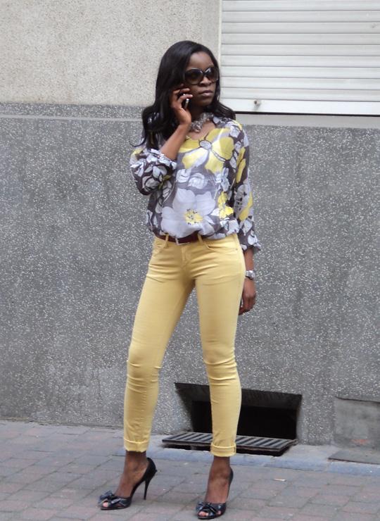 La Fashion Therapy de Céline Mademoiselle : Jaune le slim