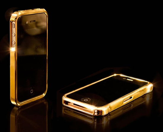Une coque en Or pour l'iPhone 4