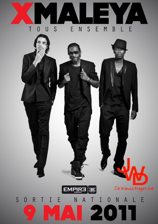 """""""Tous Ensemble"""" des X-Maleya, sortie nationale le 9 mai – Cameroun"""