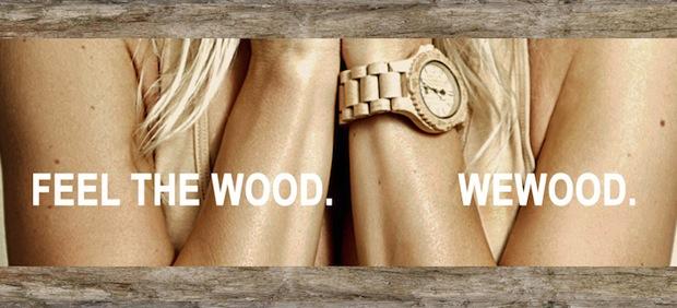 """""""WeWood"""" – Des montres en bois"""