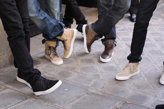 YSL – Collection de sneakers Printemps/Eté 2011