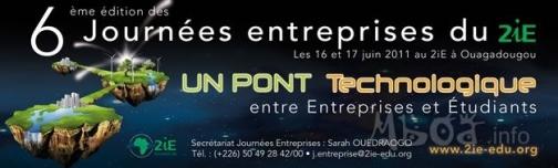 6 ème édition des Journées entreprises du 2iE – Institut International d'Ingénierie de l'Eau et de l'Environnement
