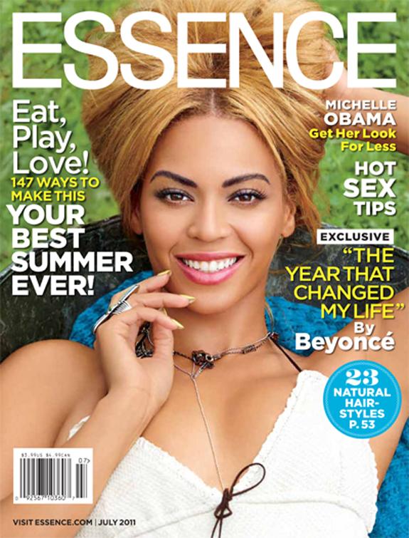Beyoncé en couverture du magazine Essence