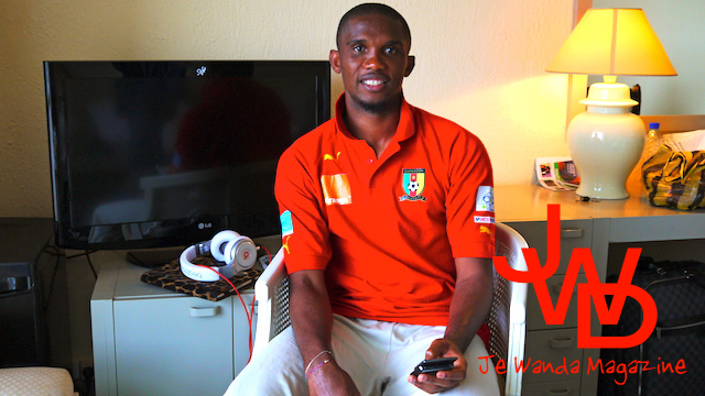EXCLU : Interview de Samuel Eto'o by Je Wanda Magazine