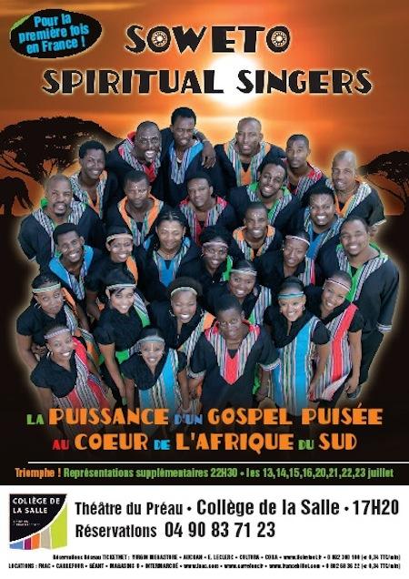 Festival Off d'Avignon 2011 – Soweto Spiritual Singers